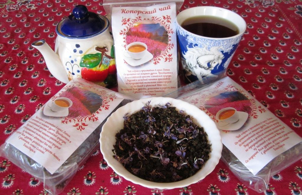 Чай собственного изготовления